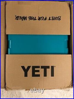 YETI TUNDRA 35 HARD COOLER LTD. ED. AQUIFER BLUE! WithDRY GOODS BASKET, SEE PICS