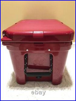YETI TUNDRA 35 HARD COOLER LTD. ED. HARVEST RED! WithDRY GOODS BASKET NWT