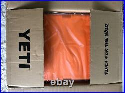 YETI TUNDRA 45 HARD COOLER LTD ED KING CRAB ORANGE withDRY GOODS BASKET&WARRANTY