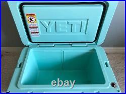 YETI TUNDRA 45 HARD COOLER LTD. ED. SEAFOAM! WithDRY GOODS BASKET & WARRANTY