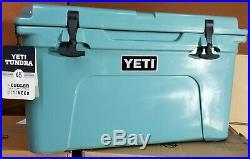 YETI TUNDRA 45 Hard Cooler RIVER GREEN BRAND NEW FREE SHIPPING