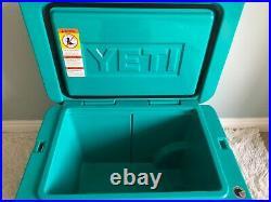 YETI TUNDRA HAUL COOLER withWheels & Pull Handle LIMITED EDITION-AQUIFER BLUE