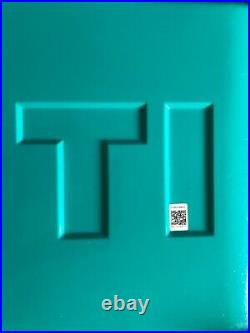 YETI TUNDRA HAUL COOLER withWheels &Pull Handle LTD ED-AQUIFER BLUE! WithWARRANTY