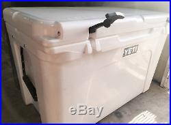 YETI Tundra 105 Cooler, White Used, See Details