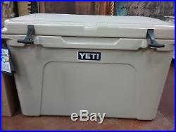 YETI Tundra 105 Hard Cooler Tan BRAND NEW