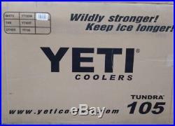 YETI Tundra 105 cooler WHITE Factory sealed box