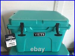 YETI Tundra 35 AQUIFER BLUE Cooler NEW
