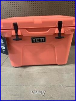 YETI Tundra 35 CORAL Cooler Limited Edition Color NEW