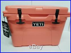 YETI Tundra 35 CORAL Cooler- New in open box. RARE