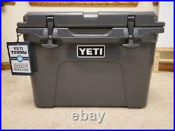 YETI Tundra 35 Charcoal Limited Edition Cooler NEW