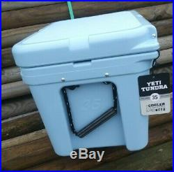 YETI Tundra 35 Cooler ICE BLUE New with tags. Retired Color