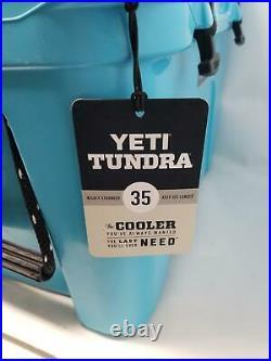 YETI Tundra 35 Cooler, Reef Blue