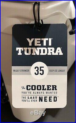 YETI Tundra 35 Cooler WHITE BRAND NEW