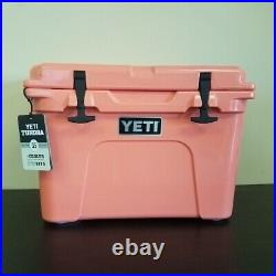 YETI Tundra 35 Coral Cooler Limited Edition New with Tags