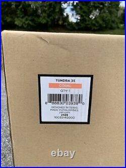 YETI Tundra 35 Coral Hard Cooler Discontinued Rare Color New In Box