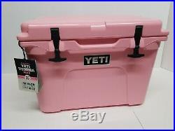YETI Tundra 35 PINK Cooler- New in box. RARE! Bonus Pink Hat