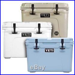 YETI Tundra 35 QT Cooler Hard Side Ice Chest White/Tan/Blue Choose your Color