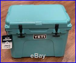 YETI Tundra 35 River Green Limited Edition Cooler New In Box Free Shipping