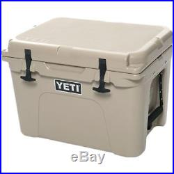YETI Tundra 35 qt Cooler Tan Color free shiping