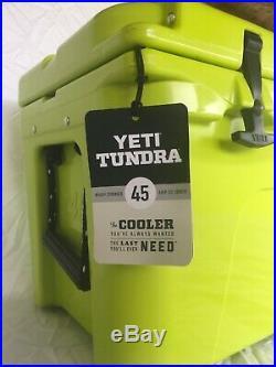YETI Tundra 45 CHARTREUSE Cooler NEW