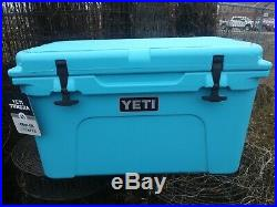 YETI Tundra 45 Cooler Reef Blue New with tags. Retired Color