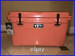 YETI Tundra 45 Coral Cooler BRAND NEW Limited Edition Discontinued Color