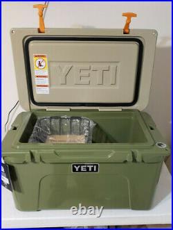 YETI Tundra 45 HIGH COUNTRY Green / Tan Cooler NEW