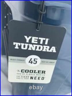 YETI Tundra 45 NAVY BLUE Cooler NEW