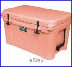 YETI Tundra 45 Quart Cooler BRAND NEW LIMITED EDITION CORAL YT45C Free Shipping