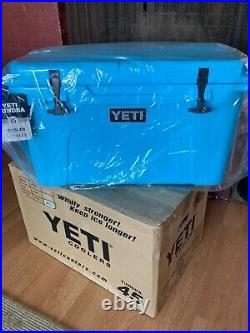YETI Tundra 45 Reef Blue Cooler Limited Edition Color NEW in original box