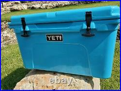 YETI Tundra 45 Reef Blue Cooler Limited Edition Color USED