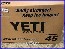 YETI Tundra 45 WHT Cooler