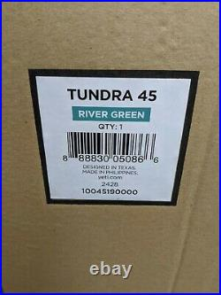 YETI Tundra 45 cooler River Green NEW