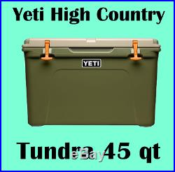 YETI Tundra 45 qt Cooler - HIGH COUNTRY - Hard Side Ice Chest BRAND NEW