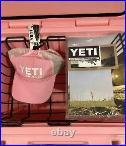 YETI Tundra 50 Cooler LIMITED EDITION PINK with Hat Brand New