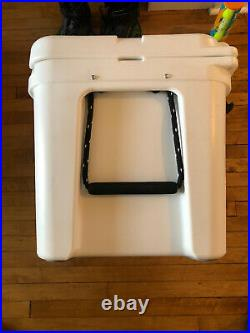YETI Tundra 50 Insulated Chest Cooler, White Rare Discontinued Size With Basket