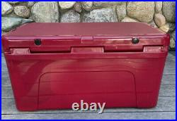 YETI Tundra 65 Cooler Harvest Red Rich- Wine Awesome New- Limited Edition