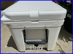 YETI Tundra 65 Cooler Used Once Excellent Condition Bear-Resistant White