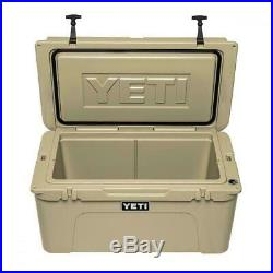 YETI Tundra 65 Cooler with Dry Goods Basket -Tan