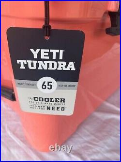 YETI Tundra 65 Coral Cooler Limited Edition Color NEW