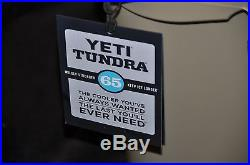 YETI Tundra 65 qt. Cooler Tan YT65T New