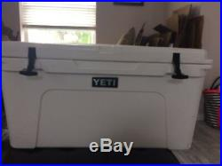 YETI Tundra 75 Quart Cooler White