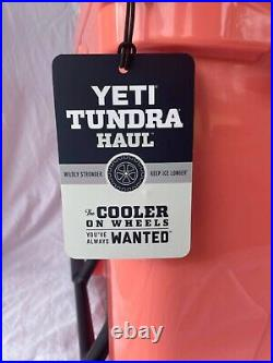 YETI Tundra Haul CORAL Cooler Limited Edition Color NEW