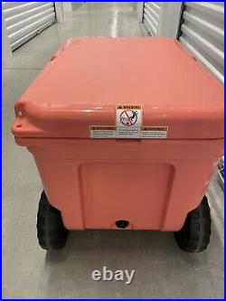 YETI Tundra Haul CORAL Cooler Limited Edition Color NEW Hard To Find