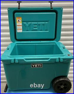 YETI Tundra Haul Cooler Aquifer Blue Teal LIMITED EDITION SOLD OUT used In Box