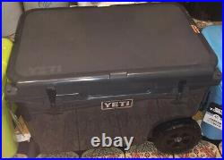 YETI Tundra Haul Cooler, Charcoal RARE hard To Find NEW