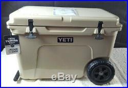 YETI Tundra Haul Cooler With Wheels DESERT TAN