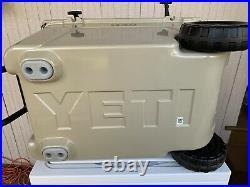 YETI Tundra Haul Hard Cooler on Wheels Desert Tan New with Tags 55 QT