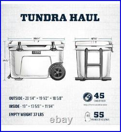 YETI Tundra Haul Portable Wheeled Cooler LIMITED EDITION RARE COLOR