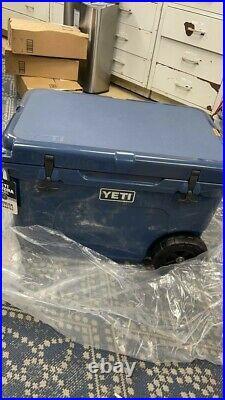 YETI Tundra Haul Portable Wheeled Cooler, Navy